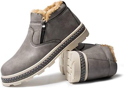 メンズ アウトドア スノーブーツ トレッキングブーツ 裏起毛 ブーツ レインブーツ ウィンターブーツ 厚い底 防滑 防寒 登山靴 冬 雪靴 レインブーツ レインブーツ ショート ブーツ スノーシューズ 保暖