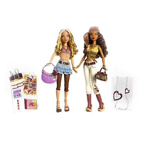 My Scene Barbie I Heart My Friends: Kennedy And Madison