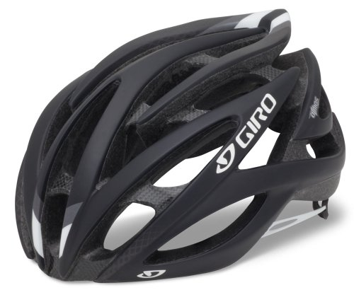 Giro Atmos Road Helmet - Giro Atmos Cycling Helmet (Matte Black/White, Small)