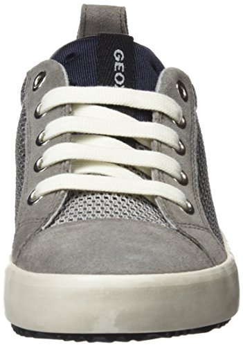 Geox Jungen J Alonisso Boy B Sneaker Grau (Grey/Black)