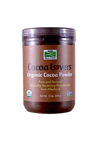 Now Foods Organic Cocoa Powder 12 oz - Pack of 2 -  2002467
