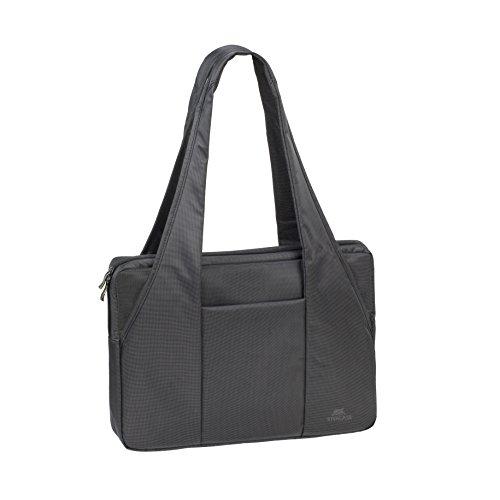 Rivacase 8291 Ladies 15.6 Inch Laptop Shoulder Bag - Black