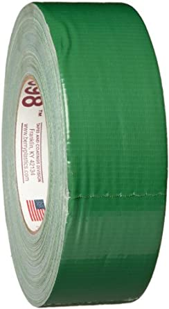"Polyken 3985020000 398-2-Green Utility Grade 2"" x 60 Yards Duct Tape"