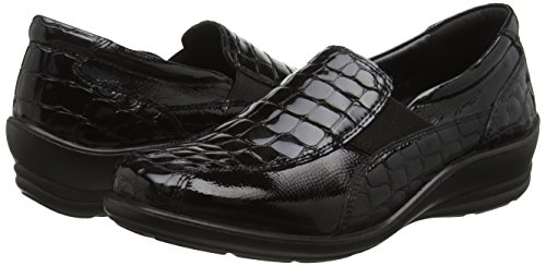 Padders Skye Mujer Croc 43 Null Black Mocasines Negro 88qSr