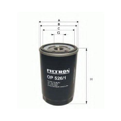 Filtron OP572/Filtro olio