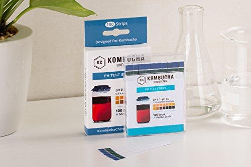 Amazon.com: Tiras de prueba de pH para Kombucha Brewing 0-6 ...