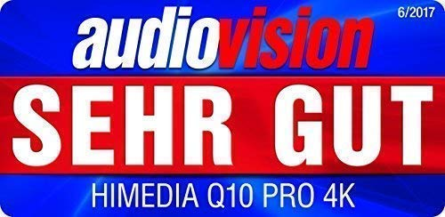 HIMEDIA Q10 PRO 4K (Ultra-HD) HDR & 3D Android Mediaplayer
