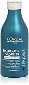 L'Oreal Professional Serie Expert Pro-Keratin Refill Correcting Care Shampoo, 8.45 Ounce