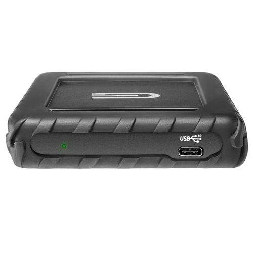 Glyph Technologies Blackbox Plus 480GB Rugged Bus Powered External USB 3.1 Type-C Solid State Drive, Compatible with Thunderbolt 3 by Glyph Technologies