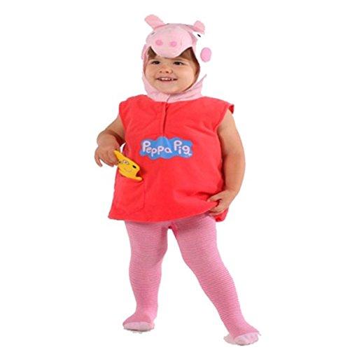 [Peppa Pig Costume Dress up Halloween Age 2-3 Years] (Peppa Pig Costume George)