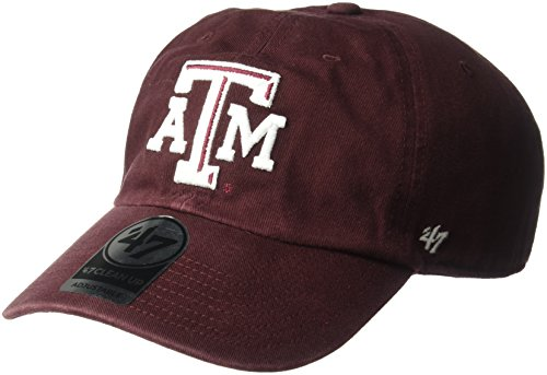 21cccc10d NCAA Texas A&M Aggies Men's Clean Up Cap, Dark Maroon, ...