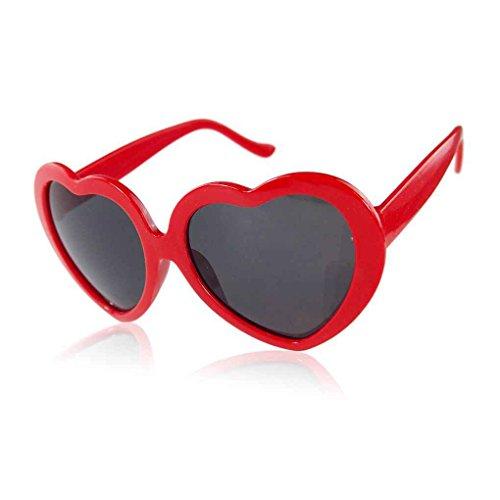Gafas Zerama Forma Lindo corazón la de del Sol Diseño de Amor ww8HqZ4