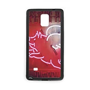 Custom Hard Plastic Back For SamSung Note 3 Case Cover with pig