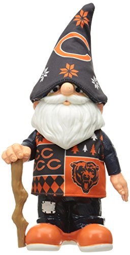 NFL Chicago Bears Real Ugly Sweater Gnome - Busy Block, Blue