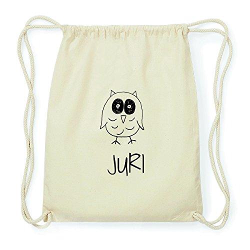 JOllipets JURI Hipster Turnbeutel Tasche Rucksack aus Baumwolle Design: Eule L7BGEl0