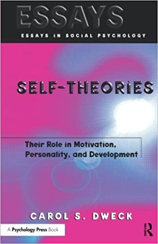 image for Self-theories: Their Role in Motivation, Personality, and Development (Essays in Social Psychology) by Carol Dweck (2000-01-01)