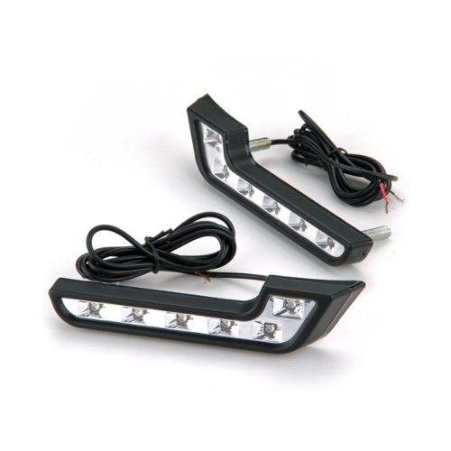 12V 18x4.3x2.2CM Sonline2x LED Tagfahrlicht KFZ Tagfahrlechte Nebelscheinwerfer Wei