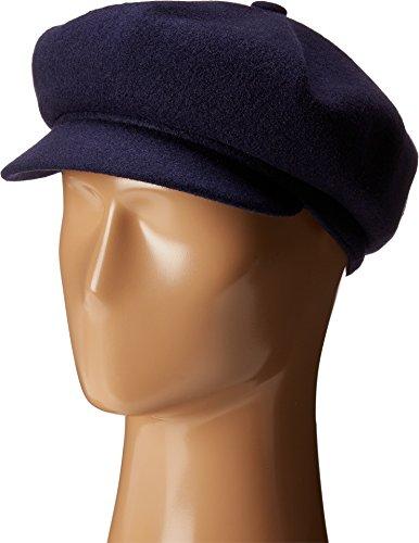 Kangol Unisex-Adult's Wool Spitfire Cap, Navy, - Spitfire Hat