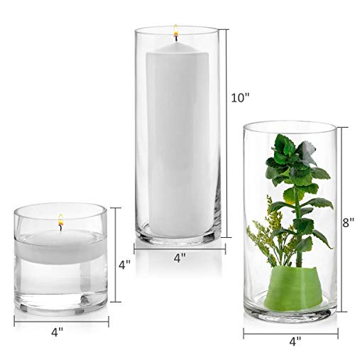 Set of 3 Glass