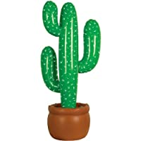 Accesorio de fiesta de cactus inflable (1 conteo) (1 /Pkg)
