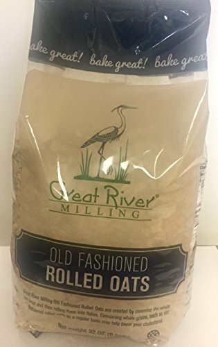 Great River Milling Old Fashioned Regular Rolled Oats, 32 Ounce (Pack of (Regular Rolled Oats)