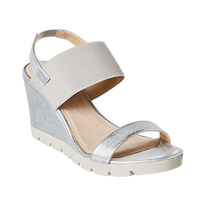 Scarpe E Borse Da Donna Sandali The Flexx Give A Lot Sandalo Zeppa 8cm Elasticizzato