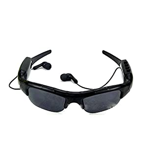 KINGEAR Sunglasses Headset with High Resolution Video Recording with Audio Stereo 4.1