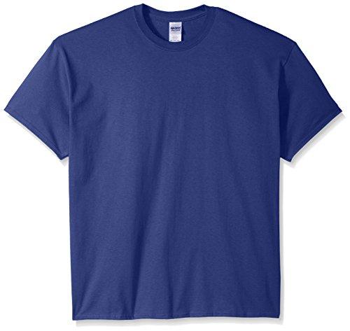 Gildan Men's Ultra Cotton Tee, Metro Blue, - Pocket T-shirt Cotton Ultra