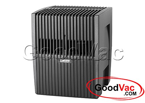 Venta 2 in 1 Air Purifier and Humidifer LW15 , up to 200sq ft. Comes with 3pack Eucalyptus Fragrances (Black) For Sale