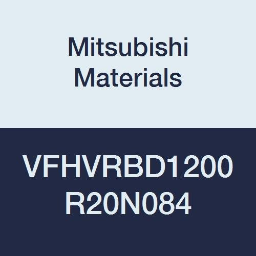Irregular 4 Helix Flutes 84 mm Neck Length 18 mm LOC Mitsubishi Materials VFHVRBD1200R20N084 VFHVRB Carbide Impact Miracle End Mill Short Corner Radius Shape 12 mm Cut Dia 2 mm Corner Radius