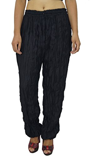 Mujeres Pantalones Yoga de la India Harem Aladdin Pantalones Casual Harem Alibaba Noir