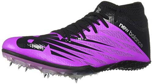 New Balance Women's 100v2 Vazee Track Shoe, Voltage Violet/Black, 8.5 B US