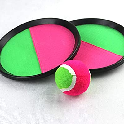 NUOBESTY Catch Ball Set - Toss and Catch Game Kids Outdoor Parent-Child Sports Game Toys: Toys & Games