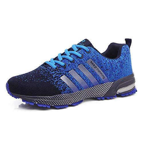 5aeba4266 Blu Nero Scarpe Uomo Corsa Da 48 All'aperto Sportive 35 Ginnastica Casual  Running Sneakers Fitness wtOCvq5