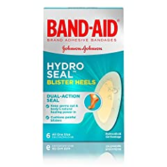 Band-Aid Brand Hydro Seal Blister Bandages Heels instantly provide an optimal healing environment. Ideal for use on heels, these hydrocolloid gel bandages are designed to provide cushioning against painful blisters and shield them from furthe...