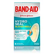 Band-Aid Brand Hydro Seal Adhesive Bandages for Heel Blisters, Waterproof Blister Pad & Hydrocolloid Gel Bandage…