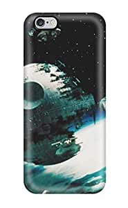 AnnaSanders Premium Protective Hard Case For Iphone 6 Plus- Nice Design - Starwars Return Of The Jedi George Lucas Force Yoda Darth Vader People Movie by lolosakes