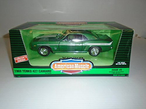American Muscle 1/18 Scale Limited Edition 1 of 3,000 Issue #5 1969 Yenko 427 Camaro Die Cast Metal (1969 Camaro Diecast compare prices)