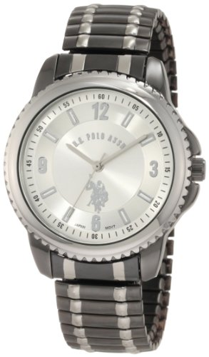Polo Gunmetal Case Watch (U.S. Polo Assn. Classic Men's USC80189 Horseman Round Case Gun-metal/Silver-tone Expansion Watch)