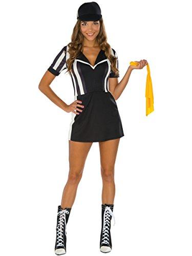 Rubie's Costume Co Women's Referee Costume Dress, Multi,