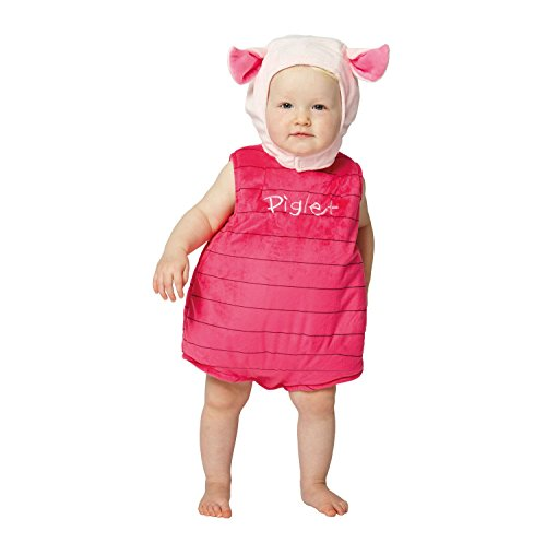 Disney Baby Piglet Plush Tabard with Feature Hat (6-12 Months) by Disney Baby ()