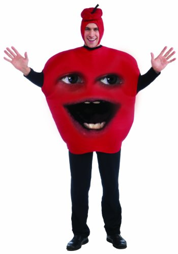 Forum Annoying Orange Midget Apple Adult Costume, Red, One Size