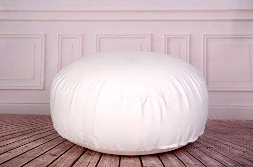 Newborn Studio Props Posing Bean Bag for Newborn Photography 33in. diameter (unfilled)