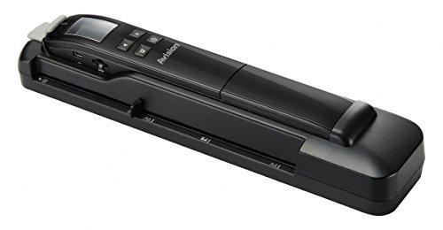 Avision 000-0783D-01G Scanner Portatile, Nero
