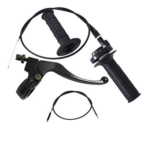 Brake Clutch Lever Bike Brake Cable Throttle Grip w/ 43.31