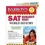 Barron's SAT Subject Test World History 4th (forth) edition