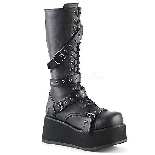 Demonia Men's Trashville-520 Knee-High Boots