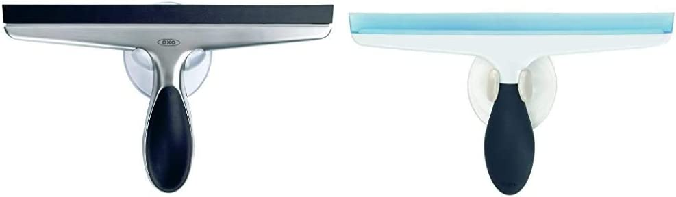 OXO Good Grips Stainless Steel Squeegee & Good Grips All-Purpose Squeegee