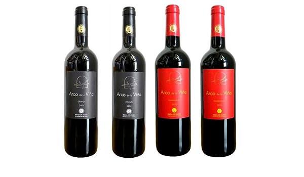 Pack de 12 botellas de Vinos DO española (6 Rioja + 4 Ribera del Duero + 2 Vinos de Castilla): Amazon.es: Alimentación y bebidas