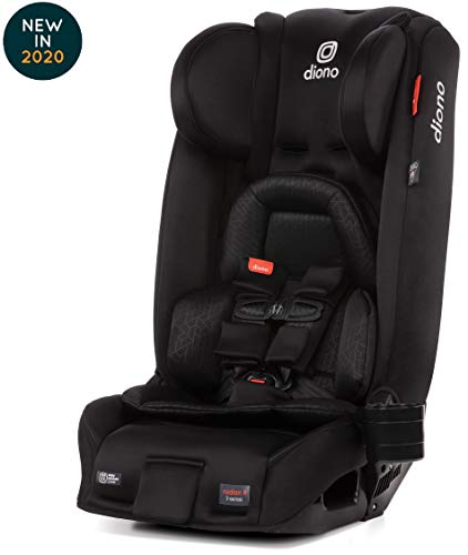 Diono Radian 3RXT Latch All-in-One Convertible Car Seat, Black Jet